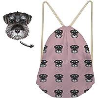 Nopersonality Funny Animal Drawstring Backpack School PE Bag