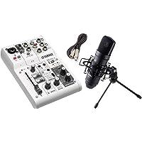 AG03 TM-80 高音質配信・録音セット TM-80 (ブラック)