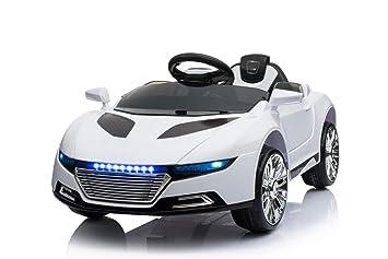 Kinderfahrzeuge Elektro Kinder Auto Elektrofahrzeug Sportwagen Akku Spyder Schwarz