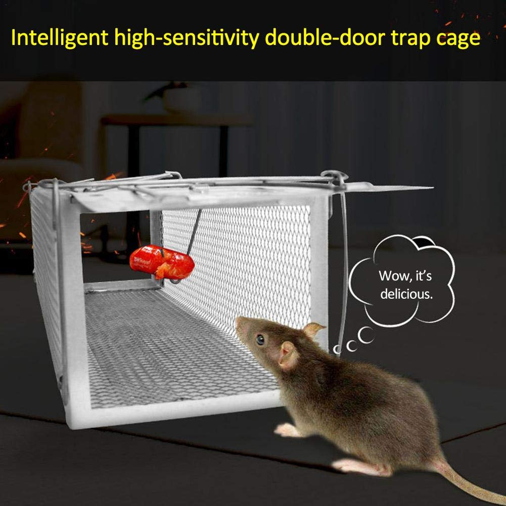 Rat Mouse Mice Traps Smart Door Humane Live Mouse Trap Animal Mouse Cage for Small Rodent Animals for Indoor Outdoor