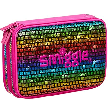 Amazon.com: Smiggle Pizazz Double Up Hardtop estuche de ...