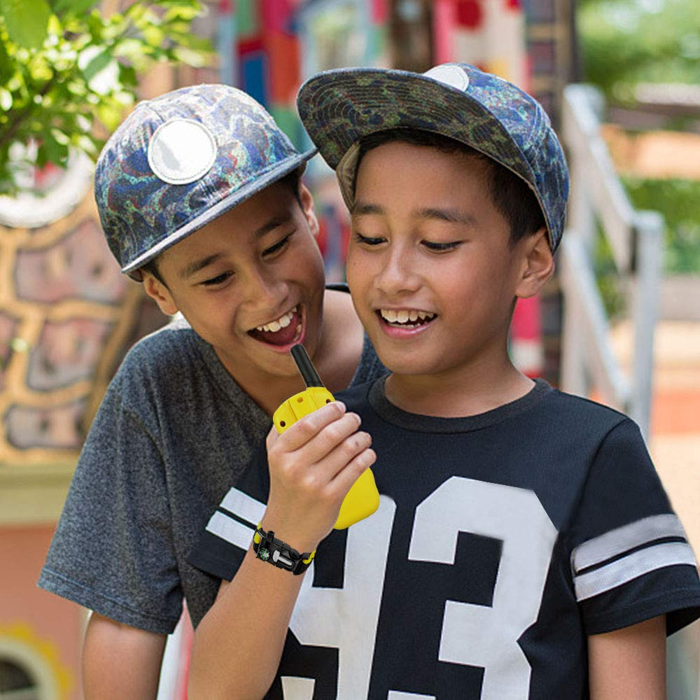 HODO Popular Outdoor Toys for 3-12 Year Old Boys, Long Range Walkie Talkies for Kids Toys for 3-12 Year Old Girls Gifts for 3-12 Year Old Boy Boy Toys Age 3-12 Girl Toys Gifts Age 3-12 HDHTS13 by HOdo (Image #7)