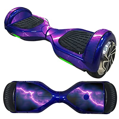 Balance Scooter/Hoverboard éclairs (1) autocollants