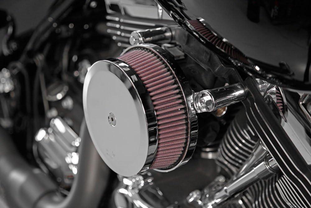 Harley Davidson K/&N RK-3946 Intake System ,CHROME
