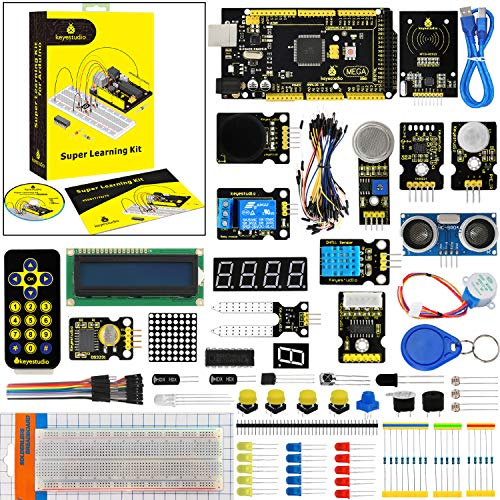 - KEYESTUDIO Mega 2560 Starter Kit with Tutorial, Perfect Stem Educational Gifts