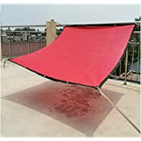 Awnings AGYHShade Cloth, Red Thick Sunscreen, Roof Window Balcony Courtyard Garden Car Insulation Cooling Awning, With…