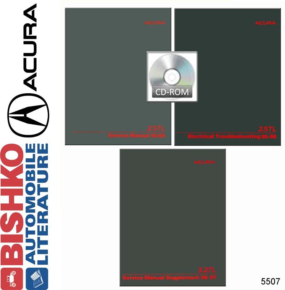 Amazon.com: bishko automotive literature 1995 1996 1997 1998 Acura 2.5TL 3.2TL  Shop Service Repair Manual CD Engine: Automotive