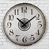 Vintage large decorative wall clock absolutely silent wall clock modern design fashion home decoration watch wall