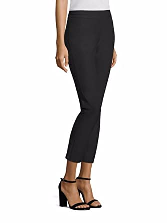 ef3254a2542f Image Unavailable. Image not available for. Color  Eileen Fisher Plus Graphite  Slim Washable Stretch Crepe Ankle Pants ...