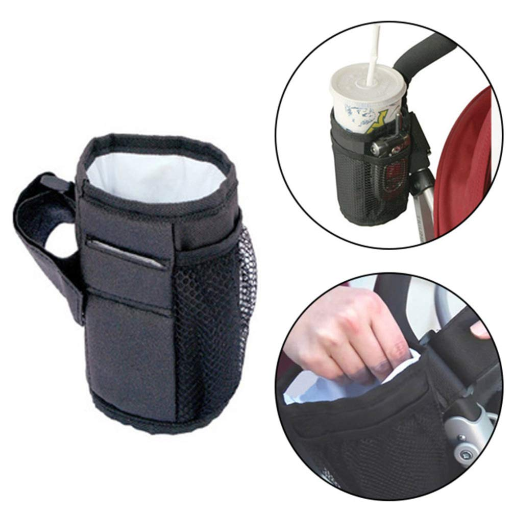djryj Reliable Drinks Holder//Cup Holder for Buggy None BK Bicycle Cup Holder Baby Bottle Holder for Sports Bottle Coffee Holder