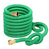 Compra Greenbest 2016 New 50' Expanding Garden Hose, Ultimate Expandable Garden Hose, Solid Brass Connector Fittings, Green en Usame
