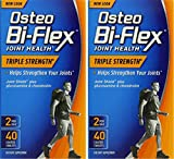 Osteo Bi-Flex Triple Strength, 40 Coated Tablets (2 Pack)
