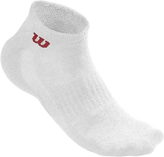Wilson Herren Crew Sock  Pack  Tennissocken weiß 3er Pack 39-46 NEU