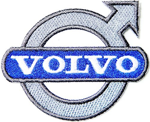 VOLVO RACING Logo Patch Sew Iron on Applique Embroidered T shirt Jacket Sign Badge Emblem ()