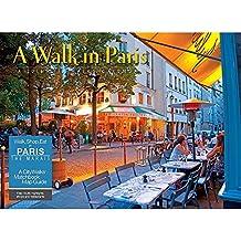 2016 Walk in PARIS A City Walk Deluxe Wall Calendar with CityWalks Matchbook Map guide