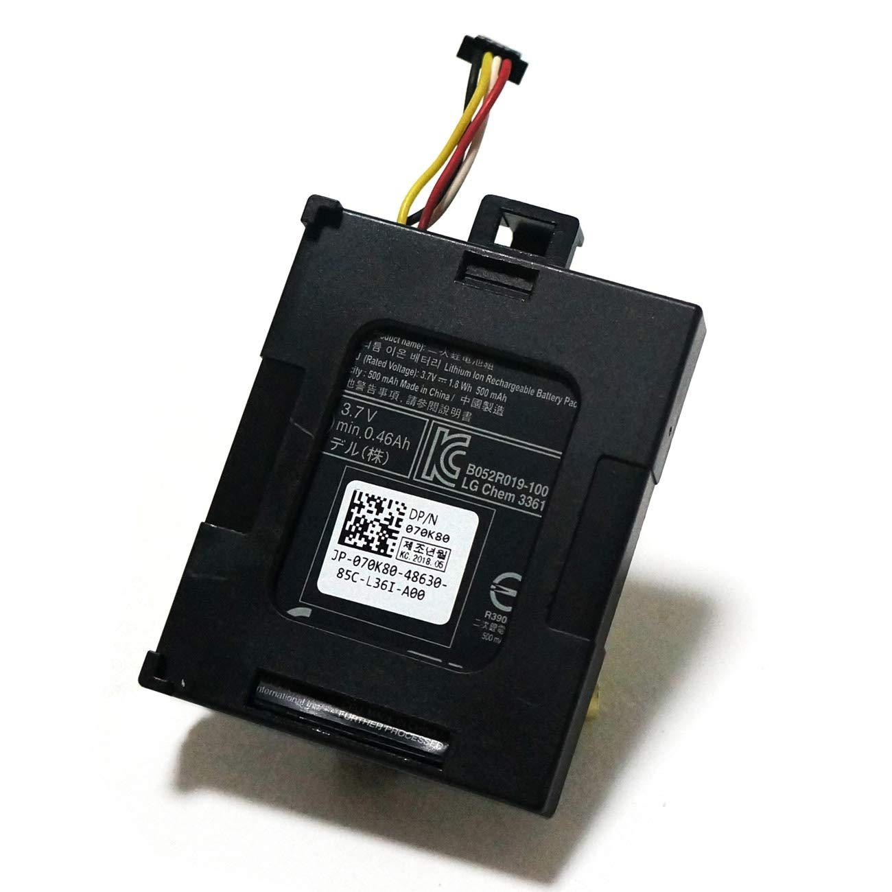 CENTERPOWER 70K80 H132V for New Battery for Dell PERC RAID H710 H710P H730 H810 H830 RAID Controller 3.7V 1.8WH