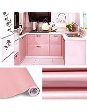 KINLO Vinilo Pegatina Muebles de Cocina, PVC Engomada Autoadhesivo Protege o Decora Armario y Aparatos Eléctricos, Papel Pintado para Muebles/Cocina/baño,Impermeable Pegatina