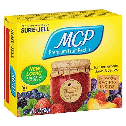 Mcp Premium Fruit Pectin By Sure Jell 2 Ounce Box Pack