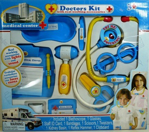 Medical Center Doctors Kit with Real Working Accessories Model: 2226