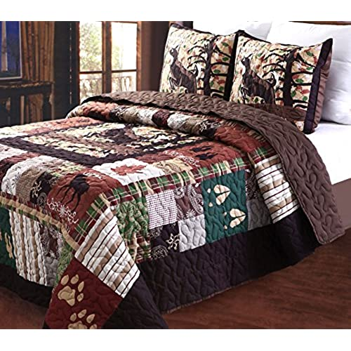 ideas cabin editeestrela image comforter bedding rustic of design