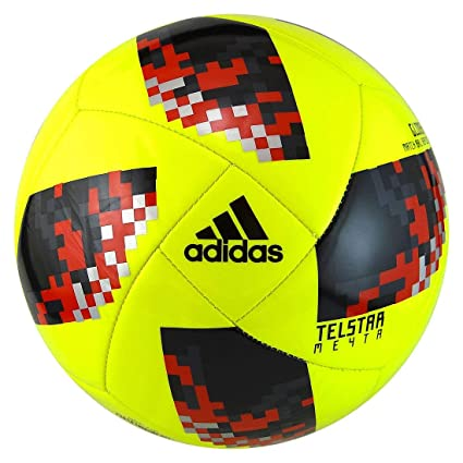 timeless design 5230d 6f017 adidas FIFA World Cup KO Knockout Glider Training Soccer Ball (3, Yellow)