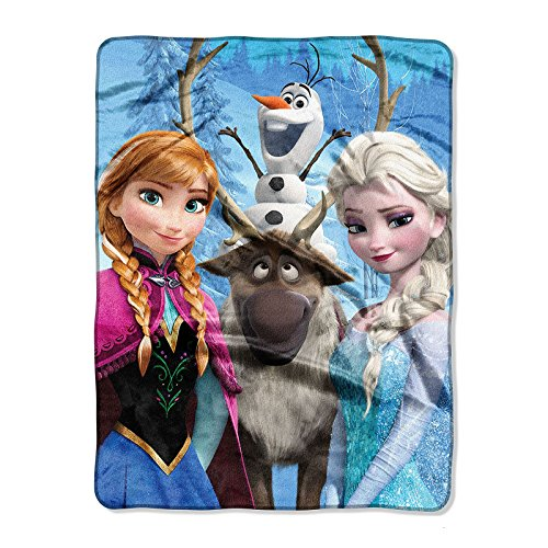 Disney Frozen Silk Touch Throw (Ana Fleece)