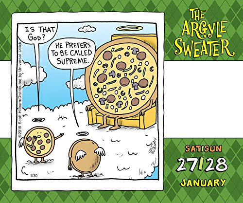 The Argyle Sweater 2018 Day-to-Day Calendar by 2018 Calendars (Image #4)