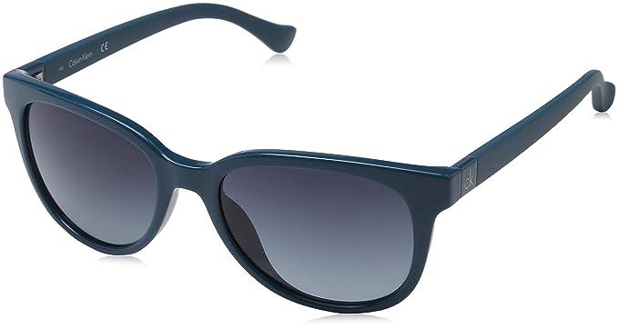 Calvin Klein Wayfarer Eye Gafas de sol, Verde, 54 Unisex ...