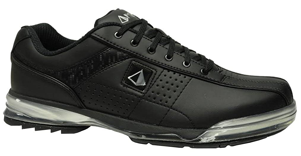 Pyramid Mens HPX Right Handed Wide Bowling Shoes - Black/Black B01AIM25CK 10 (EE) US