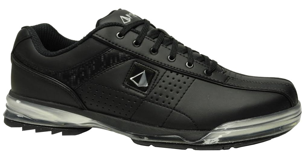 Pyramid Mens HPX Right Handed Bowling Shoes - Black/Black (9 D(M) US)