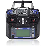 FlySky FS I6 2.4 G 6 Ch AFHDS RC Transmitter with A6 Receiver Left Hand