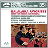 Balalaika Favorites (3-Channel and Stereo Hybrid SACD)