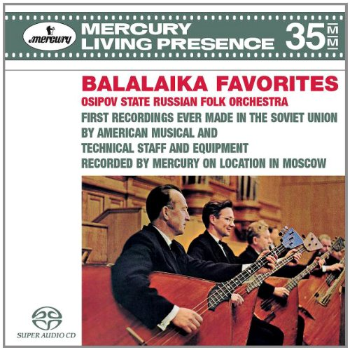 Balalaika Favorites (3-Channel and Stereo Hybrid (Presence Chamber)