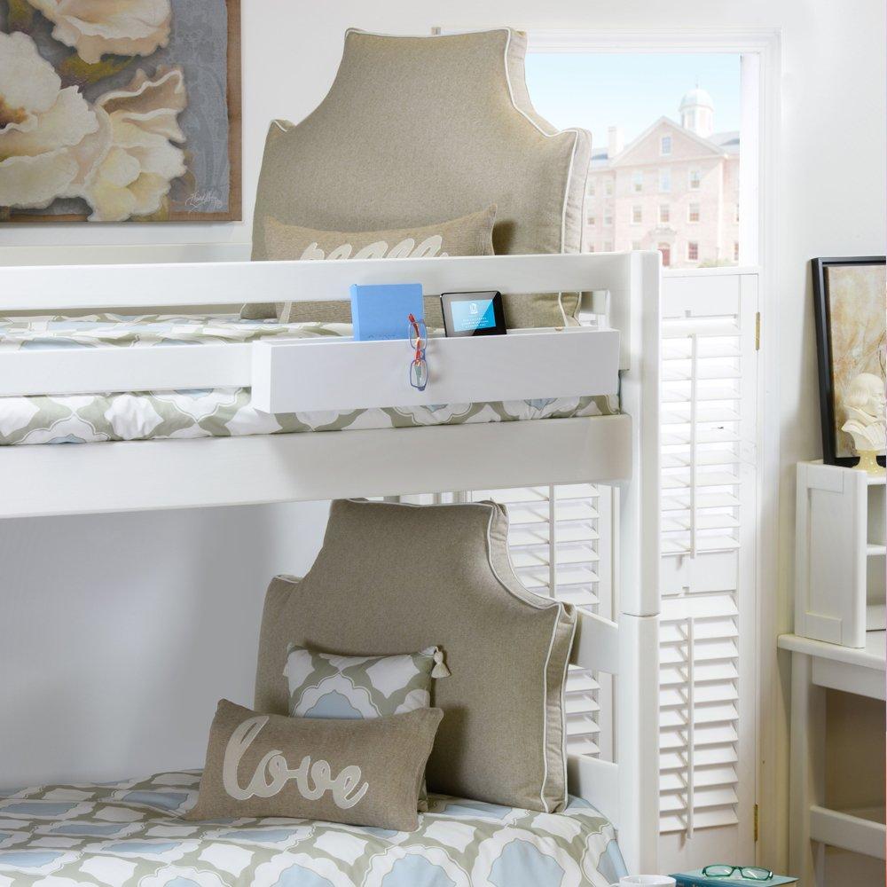 LeighDeux Headboard Pillow - Linen, Twin