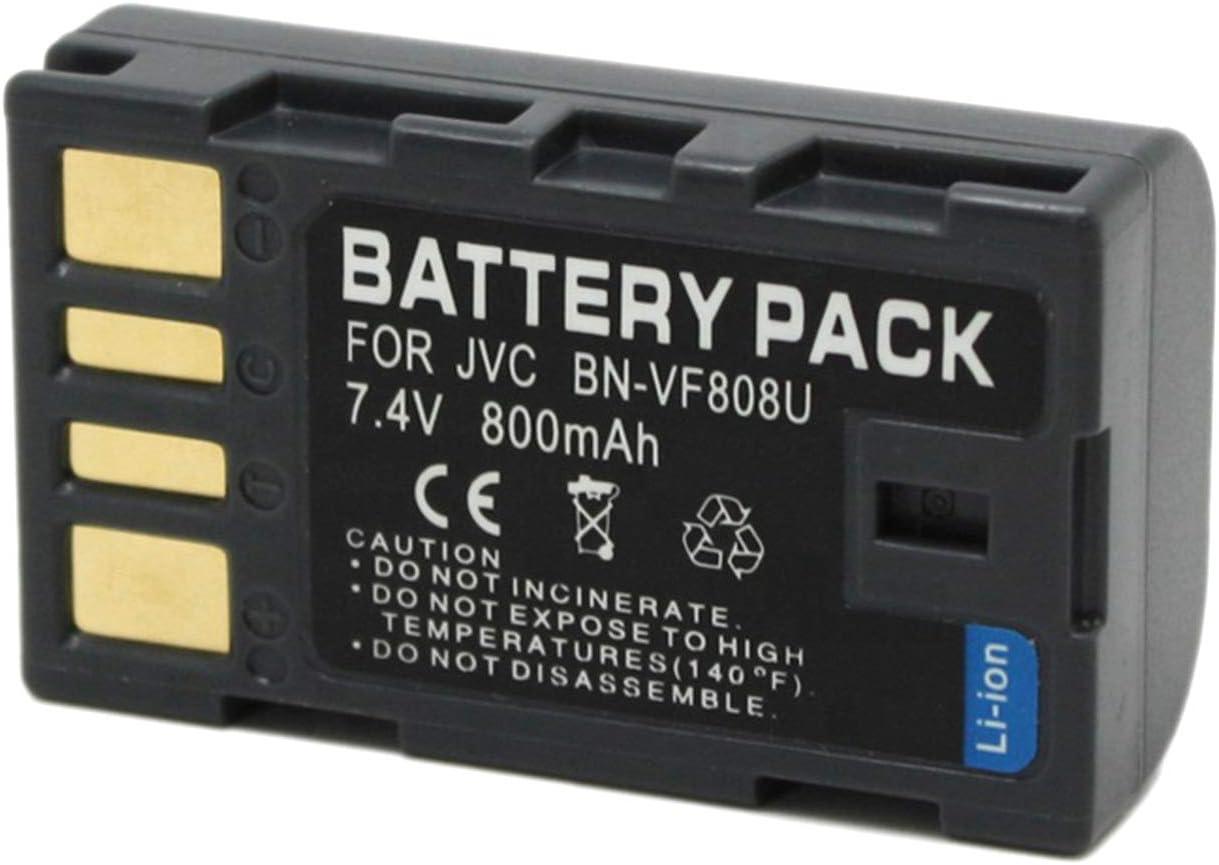 LCD USB Battery Charger for JVC GR-DA30 GR-DA30U GR-DA30US Mini DV Digital Camcorder