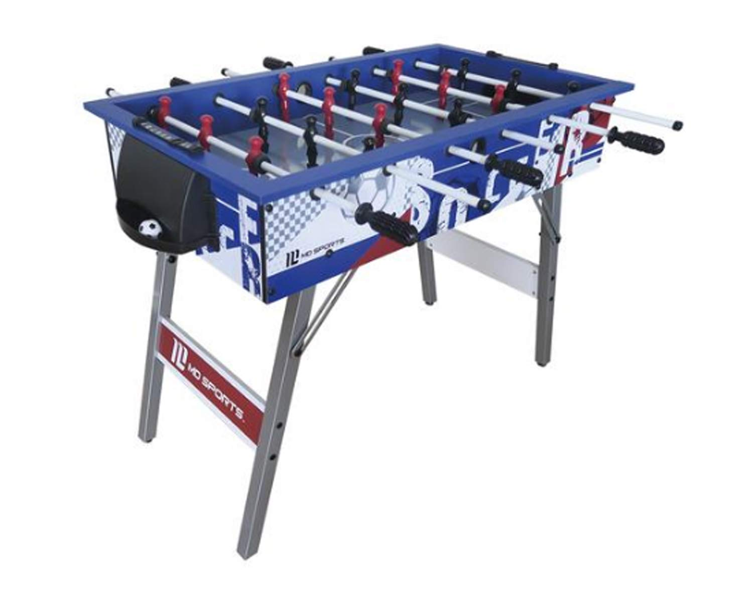 MD Sports 42 inch Foosball Foldable Table with Durable Steel Player Rods & Robot Style Players | Ages 8 Years up