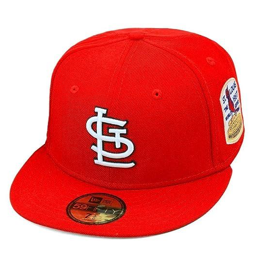 10da054e Amazon.com: New Era St. Louis Cardinals Fitted Hat Cap 1967 World ...