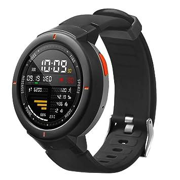 zolimx correas Relojes Inteligentes Mujer, Pulsera de Reemplazo de Correa de Reloj de Silicona Suave para Huami Amazfit Verge: Amazon.es: Deportes y aire ...