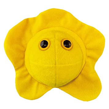 GIANTmicrobes Peluche Célula del herpes
