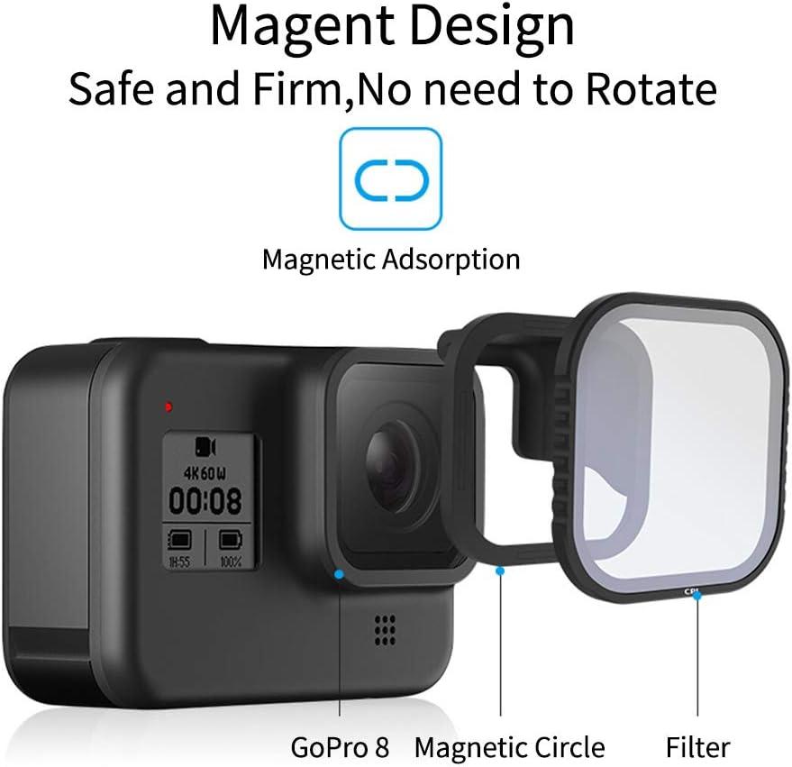 Hero 5 Camera TELESIN CPL Fliter 1 Pack Lens Filter CPL Camera Lens Filter CPL Hero 6 Lens Protector Circular Polarizer Filters with Lens Cap for GoPro Hero 2018