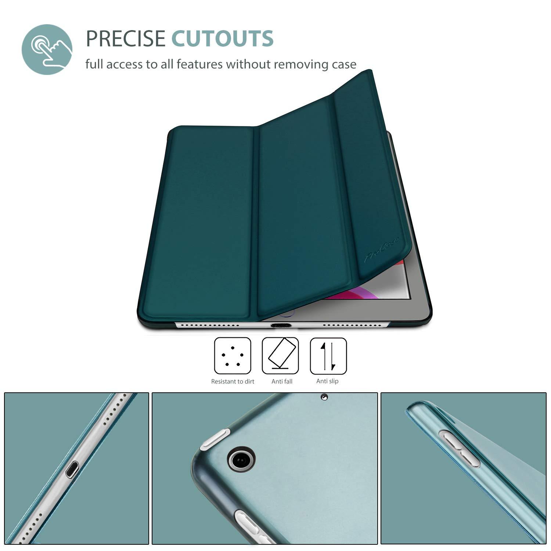 Ultra D/ünn Leicht St/änder Schale Smart Cover mit Translucent Frosted R/ückh/ülle A2197//A2198//A2200 Grau ProCase H/ülle f/ür iPad 10.2 Zoll 2019 7th Generation Dreifach Falt Klapp Schutzh/ülle Case