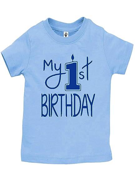 2591eb5e8 Aiden s Corner - Baby Boy My First Birthday Onesies  Amazon.ca ...