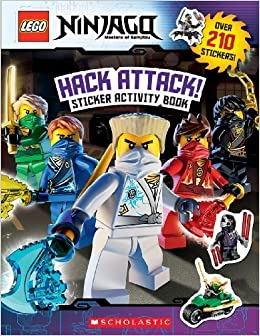 Hack Attack!: Sticker Activity Book (LEGO Ninjago) by Ameet Studio (2014-10-21)