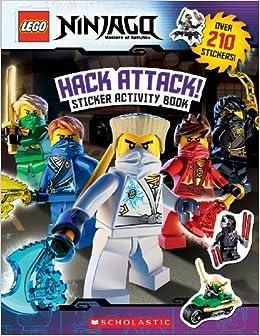 Book Hack Attack!: Sticker Activity Book (LEGO Ninjago) by Ameet Studio (2014-10-21)