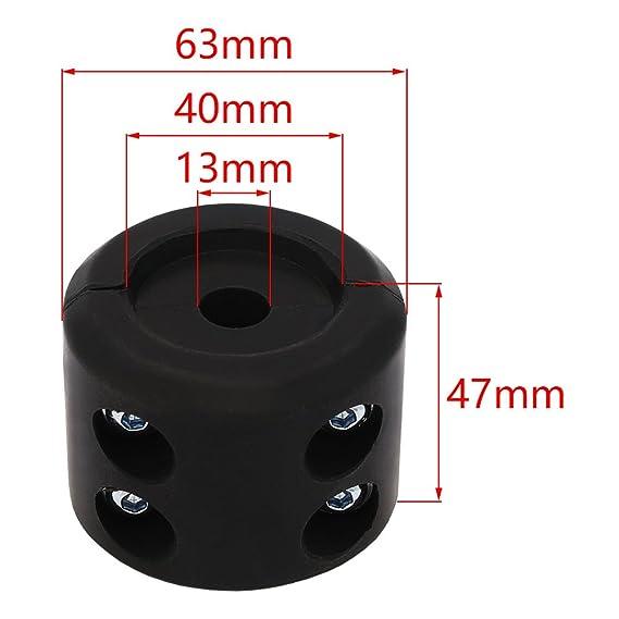 Cabrestante tapón tapón de ahorro de cable gancho línea tapón con llave Allen para ATV UTV tornos: Amazon.es: Coche y moto