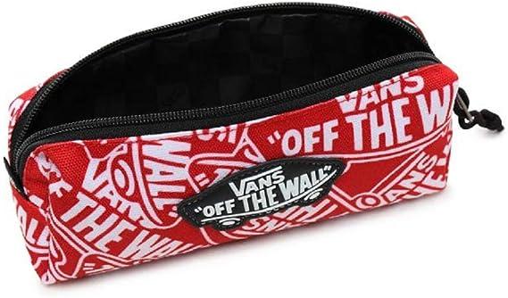 Vans OTW VN0A3HMQTTM - Estuche para lápices, color rojo y blanco: Amazon.es: Hogar