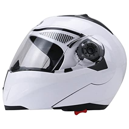 0c1065e0 Image Unavailable. Image not available for. Color: Full Face Motorcycle  Helmet Dual Visor Street Bike with Transparent ...