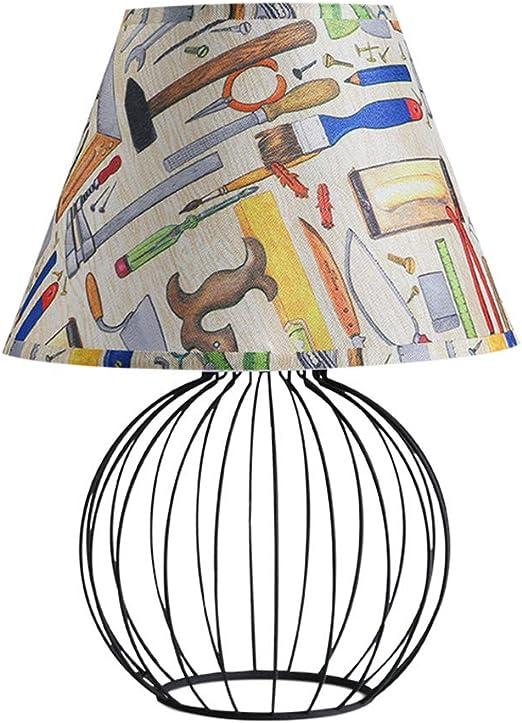 YUWJ Lámpara de Mesa, lámpara de pie Moderna de lámparas de Noche ...