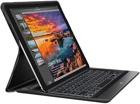 Logitech Create - Funda con teclado inalámbrico retroiluminado y tecnología Smart Connector para iPad Pro 12.9