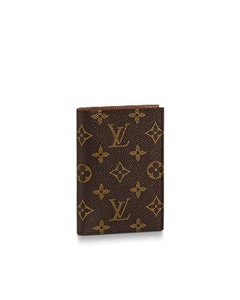 33ce4402fd7c Amazon.com  Louis Vuitton Passport Cover Monogram M64502  Clothing